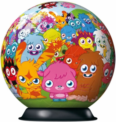 Moshi Monsters - 72pc Puzzleball By Ravensburger