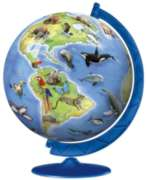 World's Endangered Species - 180pc Puzzleball By Ravensburger