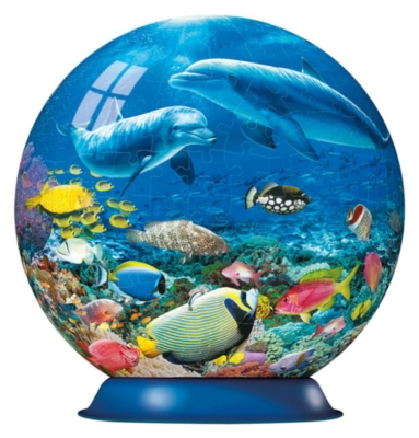 Underwater Dolphins Puzzleball