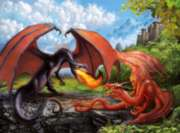 Dueling Dragons - 200pc Jigsaw Puzzle by Ravensburger