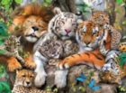 Big Cat Nap - 200pc Jigsaw Puzzle by Ravensburger