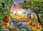 Evening at the Waterhole - 300pc Jigsaw Puzzle By Ravensburger