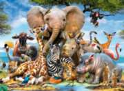 African Friends - 300pc Jigsaw Puzzle By Ravensburger