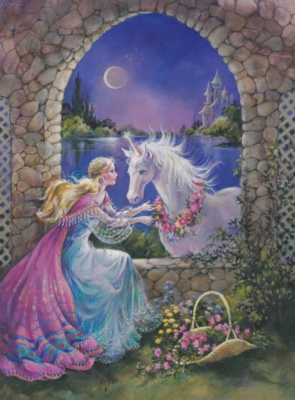Unicorn Window - 300pc Jigsaw Puzzle By Ravensburger