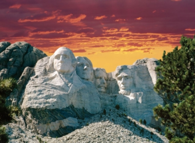 Mount Rushmore - 300pc Jigsaw Puzzle By Ravensburger