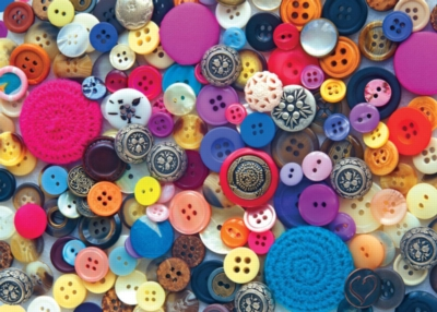 Ravensburger Large Format Jigsaw Puzzles - Buttons