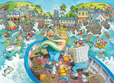 WASGIJ: Catch of the Day - 1000pc Jigsaw Puzzle By Ravensburger