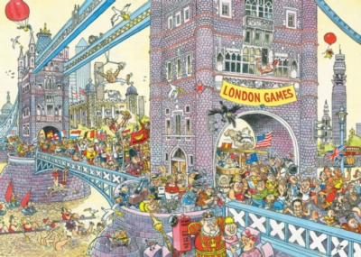 WASGIJ: The Final Hurdle - 1000pc Jigsaw Puzzle By Ravensburger