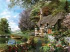 Country Cottage - 1500pc Spring Jigsaw Puzzle by Ravensburger