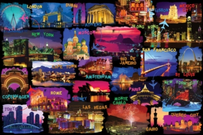 Ravensburger Jigsaw Puzzles - Around the World