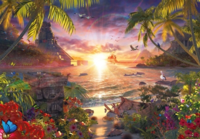 Paradise Sunset - 18000pc Jigsaw Puzzle by Ravensburger