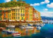 Sunny Harbor  - 1000pc Jigsaw Puzzle by Ravensburger