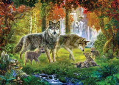 Ravensburger Wolf Puzzle