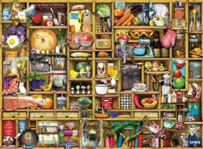 Ravensburger Jigsaw Puzzles - Kitchen Cupboard
