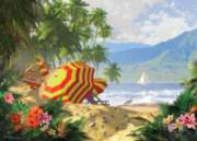 Island Getaway - 1000pc Jigsaw Puzzle by Ravensburger