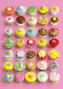 Pretty Cupcakes - 1000pc Gloss Effect Jigsaw Puzzle By Ravensburger