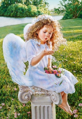 Angel Whispers - 1000pc Jigsaw Puzzle by Castorland