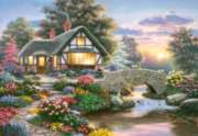 Serenity Cottage - 1000pc By Castorland