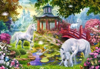 Unicorn Summer - 1500pc Jigsaw Puzzle by Castorland