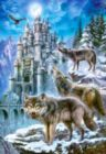 Wolves and Castle - 1500pc Jigsaw Puzzle by Castorland