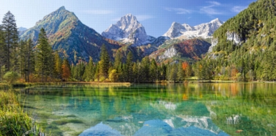 Majesty of the Mountains - 4000pc Jigsaw Puzzle By Castorland