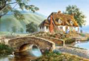 Bridge Cottage - 500pc Jigsaw Puzzle by Castorland