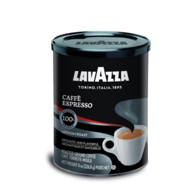 Lavazza Caffe Espresso - 8 oz Ground Espresso Can