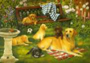 Labradors - 1000pc Jigsaw Puzzle By Holdson