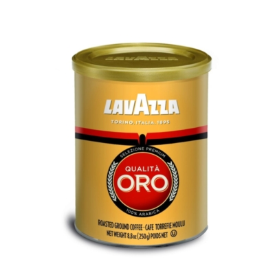 Lavazza Qualita Oro - 8.8 oz Ground Coffee Can