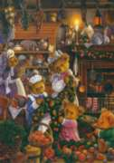 Getting Ready For Christmas - 1000pc Jigsaw Puzzle By Holdson