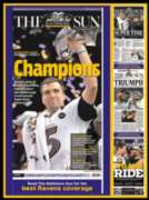 Baltimore Ravens: Super Bowl XLVII Champions - 550pc Jigsaw Puzzle By White Mountain