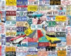 License Plates - 1000pc Jigsaw Puzzle By White Mountain