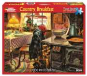 Country Breakfast - 1000pc Jigsaw Puzzle By White Mountain
