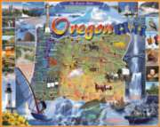 Oregon - 1000pc Jigsaw Puzzle By White Mountain