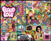 Peace & Love - 1000pc Jigsaw Puzzle By White Mountain
