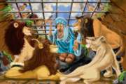 Daniel and the Lions' Den - 48pc Floor Puzzle By Melissa & Doug
