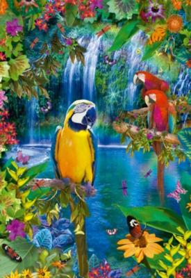 Educa Jigsaw Puzzles - Bird Tropical Land