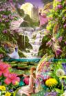 Waterfall Fairies - 500pc Jigsaw Puzzle By Educa