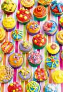 Colorful Cupcakes - 500pc Jigsaw Puzzle By Educa