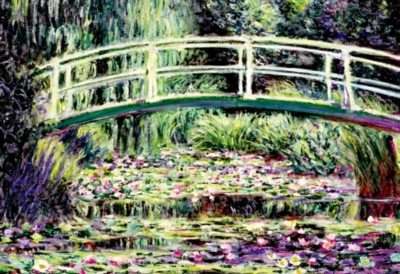 White Water Lilies - 1500pc Jigsaw Puzzle By Educa