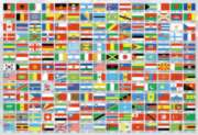 Flags of the World - 1500pc Jigsaw Puzzle By Educa