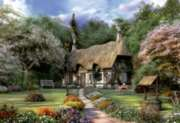 Rose Cottage - 1500pc Jigsaw Puzzle By Educa