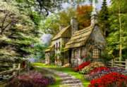 Educa Jigsaw Puzzles - Carnation Cottage