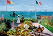 Terrace at Sainte-Adresse - 2000pc Jigsaw Puzzle By Educa