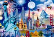 World Monuments - 2000pc Jigsaw Puzzle By Educa