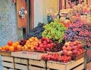 Springbok Jigsaw Puzzles - Fruit Market