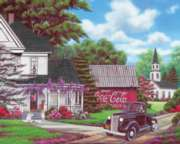 Coca-Cola Country - 1000pc Jigsaw Puzzle by Springbok