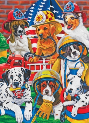 Springbok Jigsaw Puzzles - Rescue Heroes