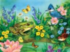 Garden Pond - 300pc Large Format Jigsaw Puzzle by Sunsout