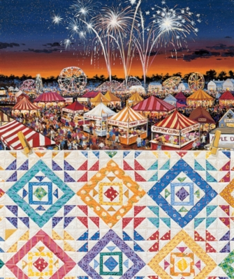 County Fair - 550pc Jigsaw Puzzle By Sunsout